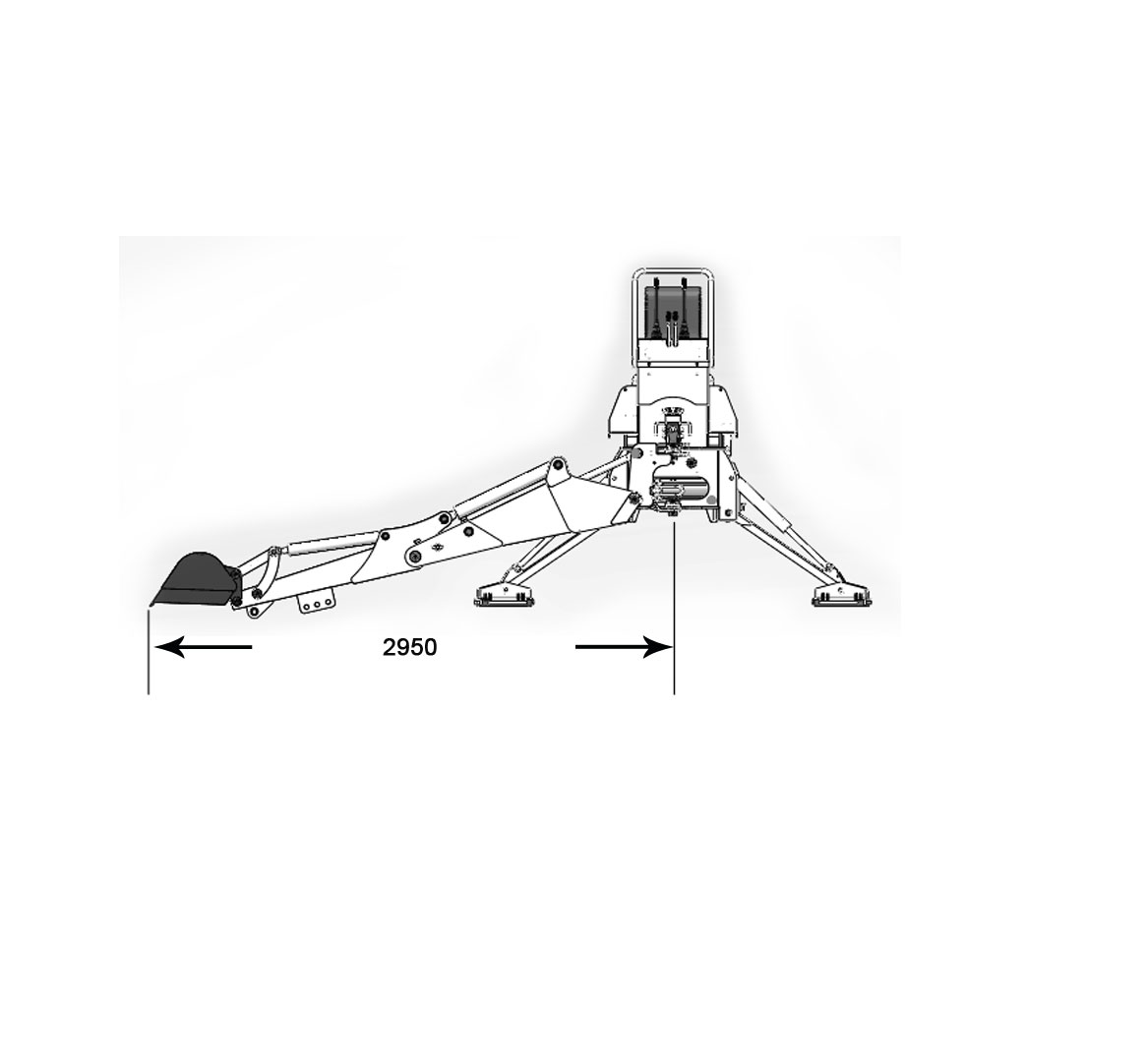 BOWELL TRACTOR EUROPE - Bowell Backhoe BH-7