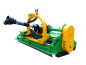 Preview: Bowell MFZ heavy duty Flail Mower with PTO shaft and hydraulic side shift - 540 & 1000 U/min - 1500gr. flail hammer for branches up to 40mm - up to 75cm grass height - 135cm to 195cm working width