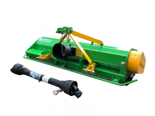 Bowell EF  Flail Mower incl. PTO shaft - 400gr flail hammer -  up to 40cm grass height - 15 to 40hp tractor - 95cm to 175cm working width