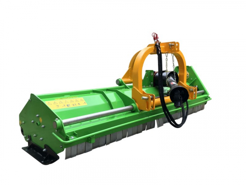 Bowell MXZ heavy duty Flail Mower with hydraulic side shift - 540 & 1000 RPM - 1500gr. flail hammer for branches up to 40mm - up to 120cm grass height - 220cm to 240cm working width