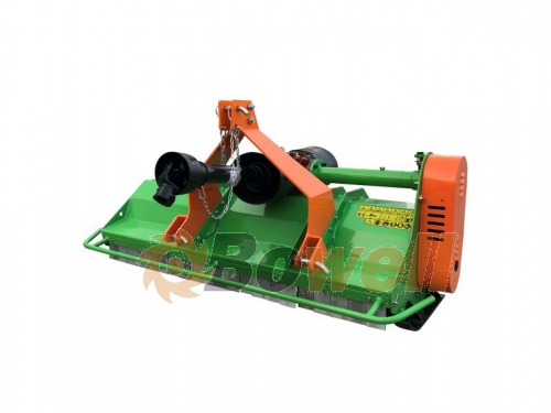 Bowell EFME middle duty front/rear Flail Mower - Comer gear box - for 540+1000 RPM - incl. PTO shaft - 800gr forged flail hammers - up to 75cm grass height - 135 to 195cm working width
