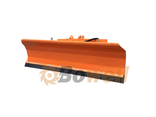 Bowell SP 2200 - Snow Plough Cat I / II / Euro front loader - with pendulum compensation - 220cm