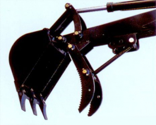 Bowell grasping claw for Backhoe  - special price in combination with Backhoe only