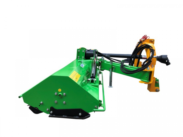 Bowell BCRM verge flail mower incl. PTO shaft - 800gr flail hammer -  up to 75cm grass height - 30hp to 65hp tractor - 135cm to 195cm working width