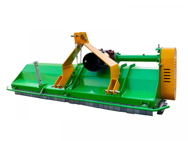 Bowell EFGC middle duty Flail Mower with Comer transmission - incl PTO shaft - 540 & 1000 rpm - 800gr. flail hammer - up to 75cm grass height - for 18 to 65hp tractor - 115 to 195cm working width