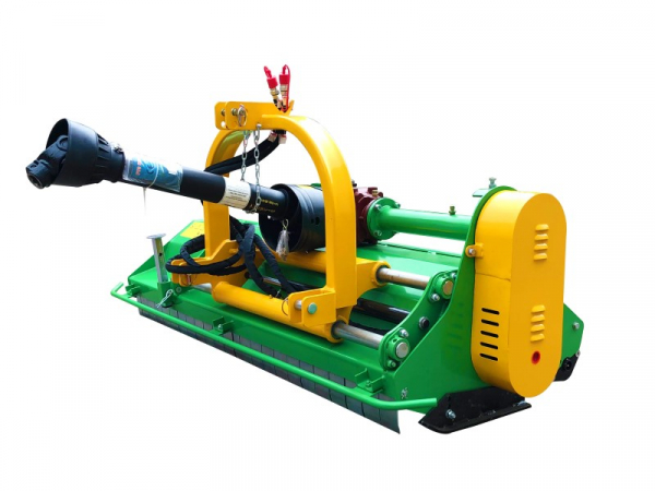 Bowell MFZ heavy duty Flail Mower with PTO shaft and hydraulic side shift - 540 & 1000 U/min - 1500gr. flail hammer for branches up to 40mm - up to 75cm grass height - 135cm to 195cm working width